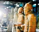 Was China's Terracotta army modelled on  real soldiers?