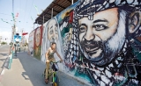 Colourful war of words plays out on Gaza's battered walls