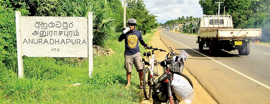 Biking to raise awareness
