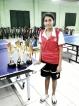Thusyanthan and Sinthuya of Jaffna Most Outstanding TT players