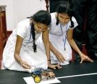 Putting their robotics skills to the test