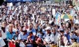 Consider postwar progress against charge of mismanagement: Mahinda Rajapaksa