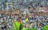 Viva Il Papa from 600,000 Lankans
