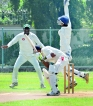Weather gods were kind; cricket back on track