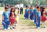 Tiny Tots Cricket Match