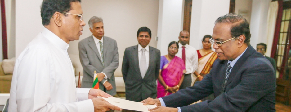 Justice Sripavan appointed CJ 44