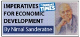 Challenging opportunity for sustainable economic development