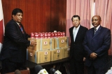 Japan donates over 250 tons tinned fish for North school lunches