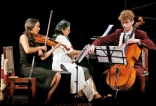 Three musicians on a unifying musical journey