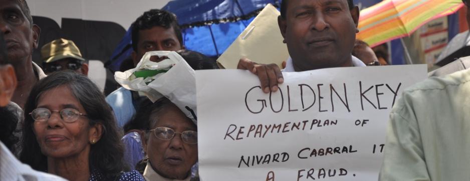 GK protests return to haunt authorities