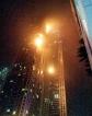 Fire hits Dubai skyscraper