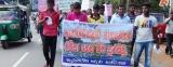 Protesters block Colombo-Puttalam road at Anawilundawa