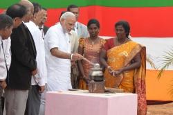 Modi on the milky way