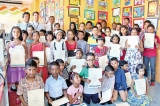 Young artists of British Council Art Club