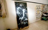 Gaza man feels duped after selling Banksy mural for $175