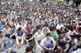 IUSF agitates against issues outside its syllabus