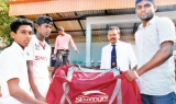 Manjula Asanka Guruge felicitated by his alma mater