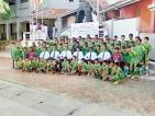 Najeebdeen gifts football kits to his Alma Mater