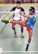 India and Malay CC in  Sepaktakraw men's finals
