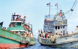 Thailand finds over 100 migrants on island, many more still adrift