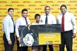 Sri Lankan student honoured with opportunity to deliver match ball at Rugby World Cup 2015