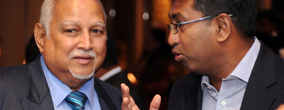 Master businessman and the economic guru