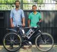 Moratuwa undergrads' mo-ped bicycle revolutionises cycling