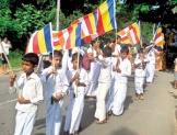 Kirama school children participated in Mihindu Perahera