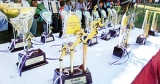 Sathira Shanuka and Nirmali Madushika champion athletes at Southern Province schools meet