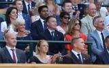 Sanga at Wimbledon