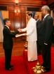 New Japanese ambassador presents his credentials to the president