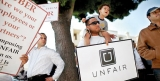 Former tech darling Uber comes under fire, literally