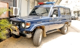 Cannabis in CM's police vehicle Mahipala Herath claims the jeep was stolen