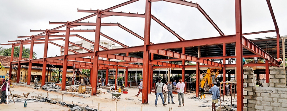 An engineering marvel rising up to house the heart of Negombo Hospital