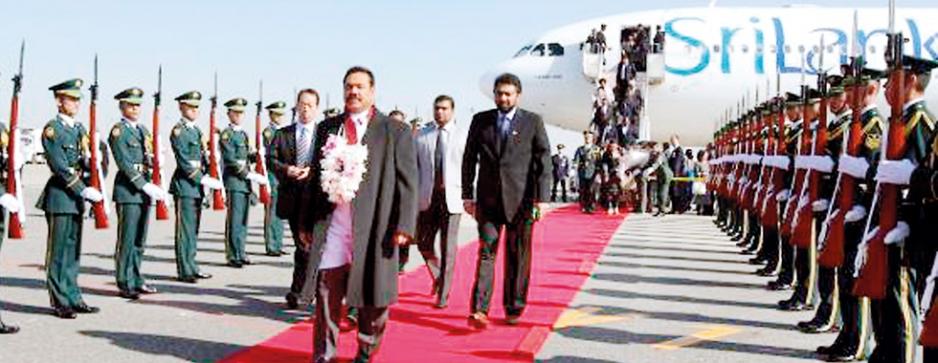 Rajapaksa's sky jack of Sri Lankan flights : Rs 785M for three years