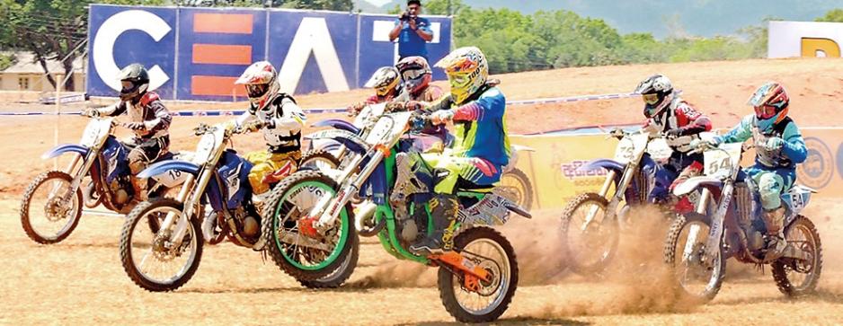 Ashan burns the track at Sigiriya