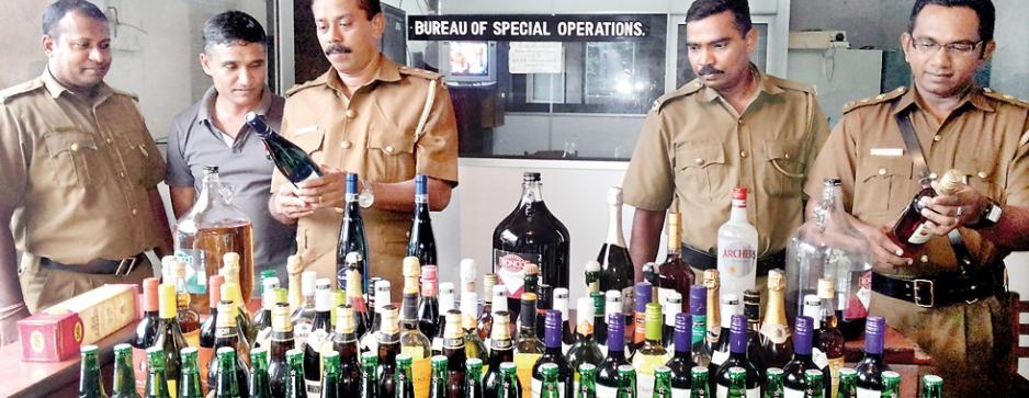 Authorities to block foreign liquor flooding market