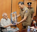 Felicitating a PC who became VC