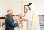 Sri Lankan Ambassador in Qatar presents credentials