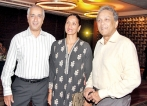 Founder Chairman of Ceylon Biscuits Ltd. M.P. Wickramasingha felicitated