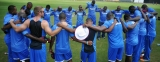 Lankans upbeat in spite of inclement weather