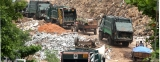 Environmentalists derail garbage train to Aruwakkalu