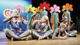 Children's plays in two towns