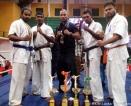 Lankan karatekas do well in Kerala