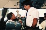 Sunil Wettimuny, the cricketer turned pilot and meditator