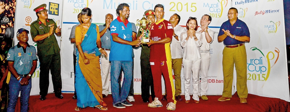 Murali Harmony Cup showed that there is abundant talent in North East
