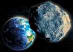 Close encounter with 400-metre-wide asteroid