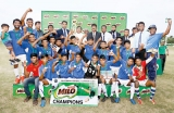 St. Mary's SC emerge champions for third successive year