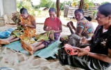 Recycle-Sari Project in 2012 aims to support women headed families in war-affected North