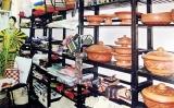Lanka Mahila Samithi: Exhibition and sale of handicrafts